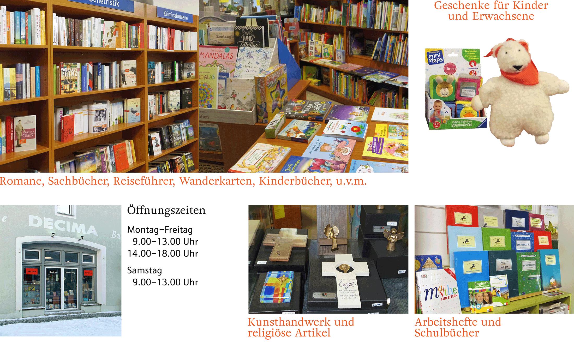 DECIMA Kunst- und Buchhandlung